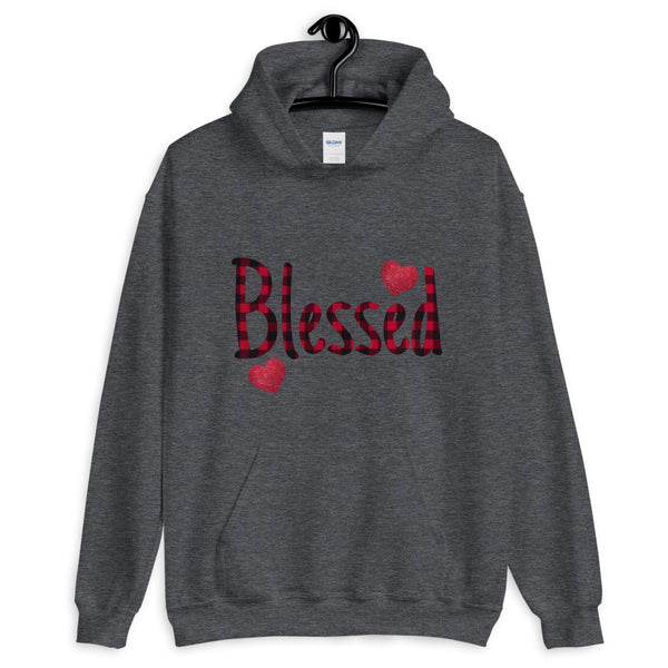 """Blessed"" Graphic Hoodie"