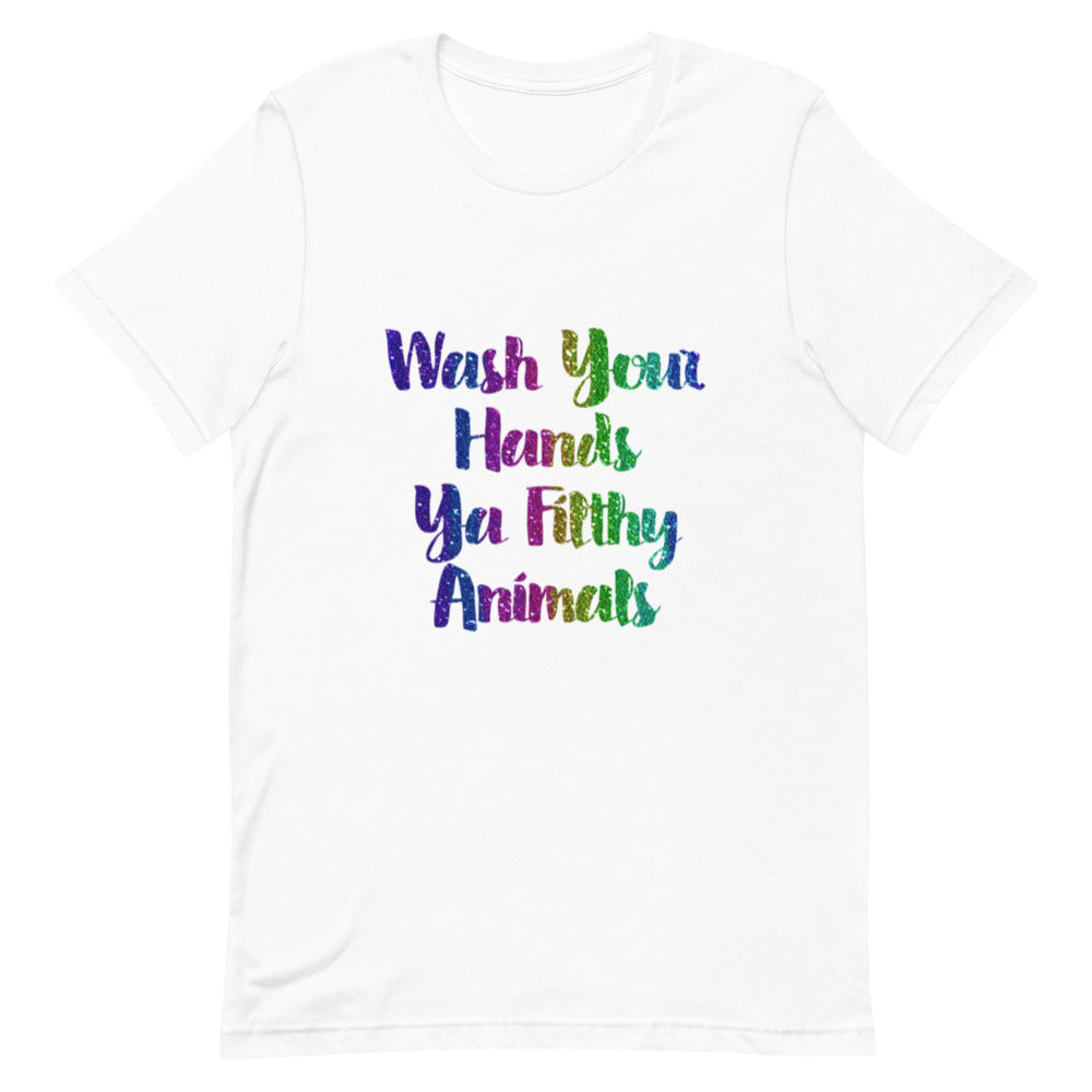 """Wash Your Hands"" Graphic T-Shirt - 3 Colors"