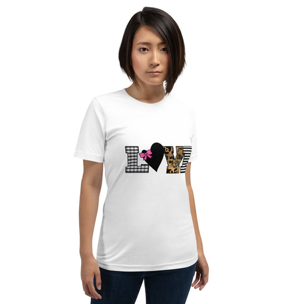 """Love"" Graphic T-Shirt - Multiple Colors"