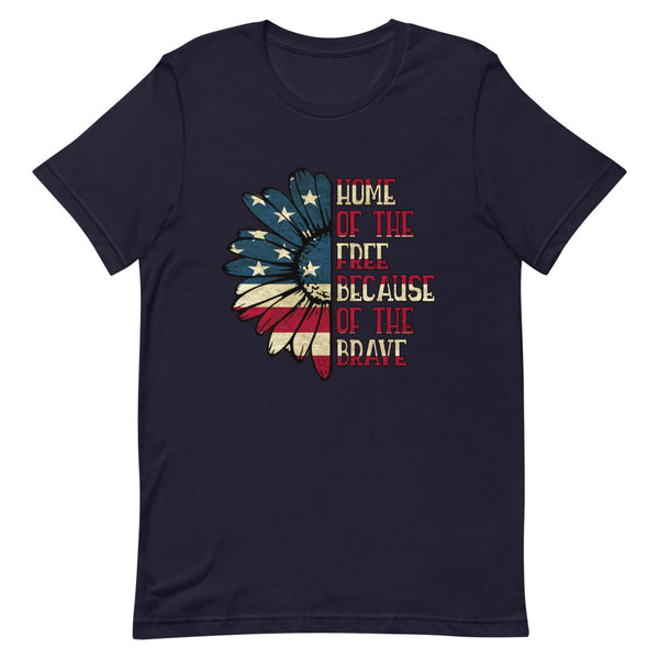 """Home of the Free"" Graphic T-Shirt"