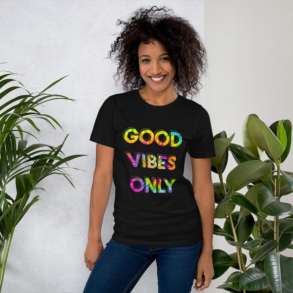 """Good Vibes Only"" Graphic T-Shirt"