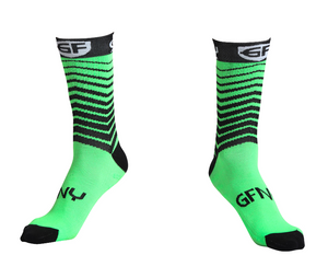 Socks Coolmax Green  גרביים לרכיבה