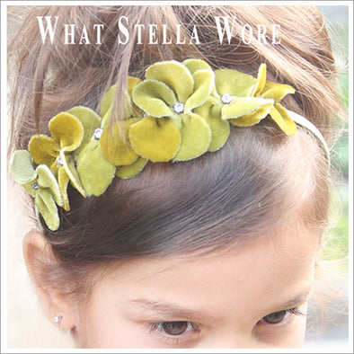 Velvet Shamrock Headband Tutorial