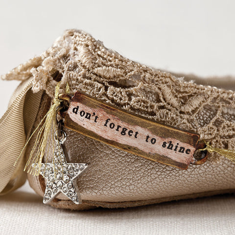 Ballet Shoe Ornament