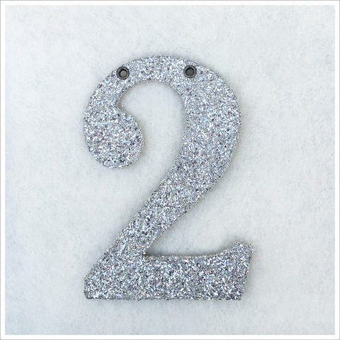 Glittered Numbers 6