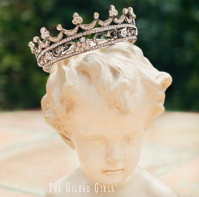 Scalloped Tudor Crown
