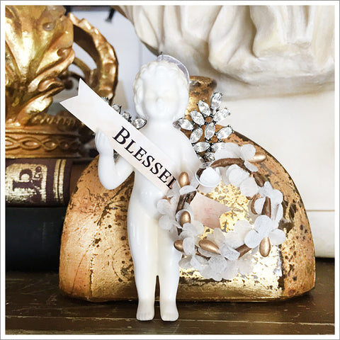 Blessed Cherub ornament