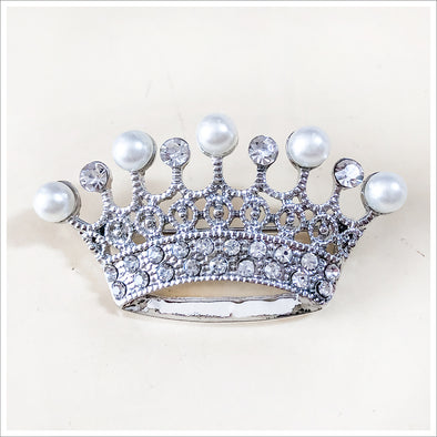 Classic Crown Brooch