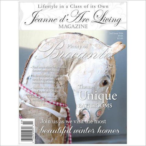 Jeanne d'Arc Living Magazine February 2014