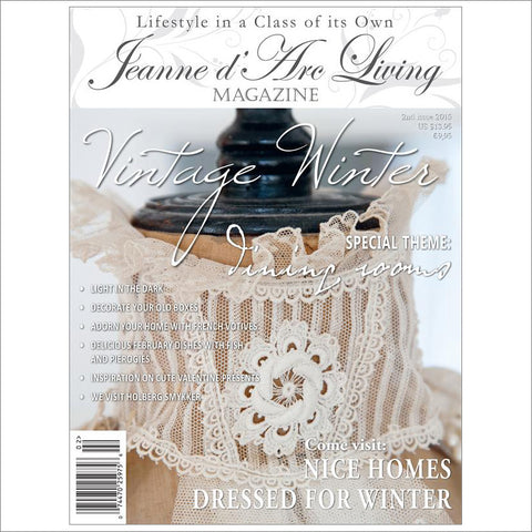 Jeanne d'Arc Living Magazine February 2015