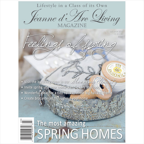 Jeanne d'Arc Living Magazine March 2017