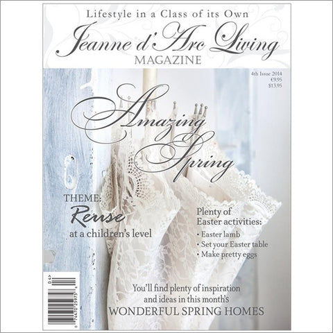 Jeanne d'Arc Living Magazine April  2014