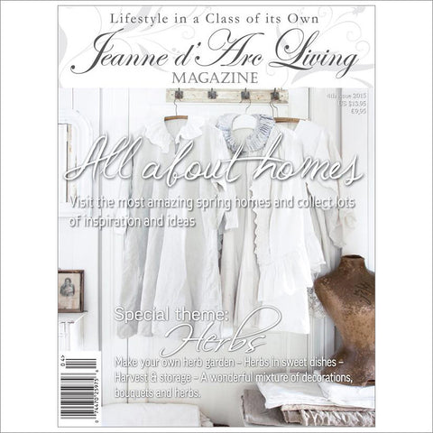 Jeanne d'Arc Living Magazine April 2015