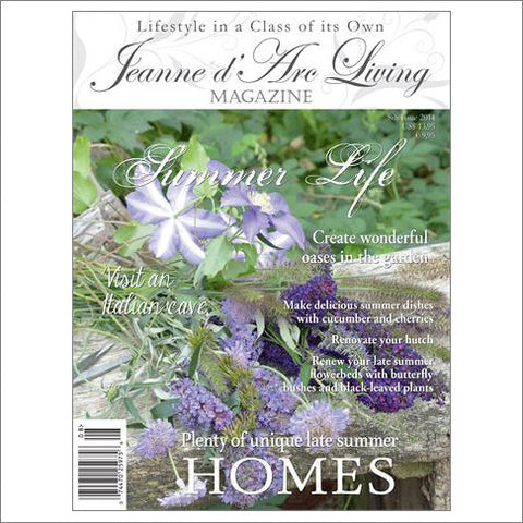 Jeanne d'Arc Living Magazine August 2014
