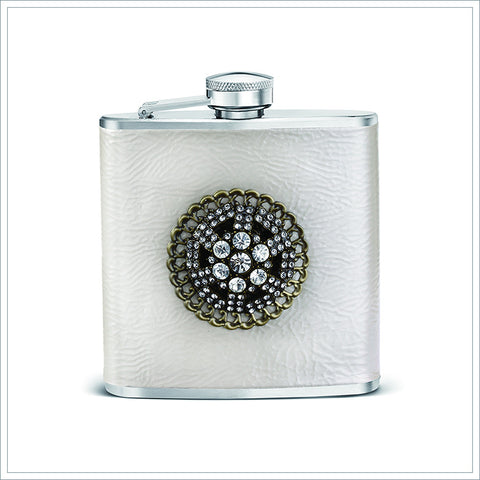 Embellished Flask