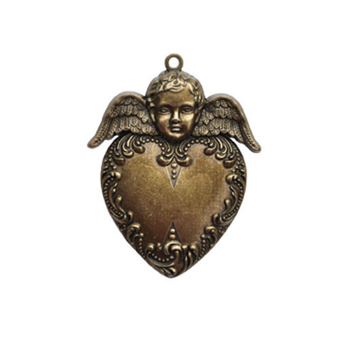 Heart Angel Pendant