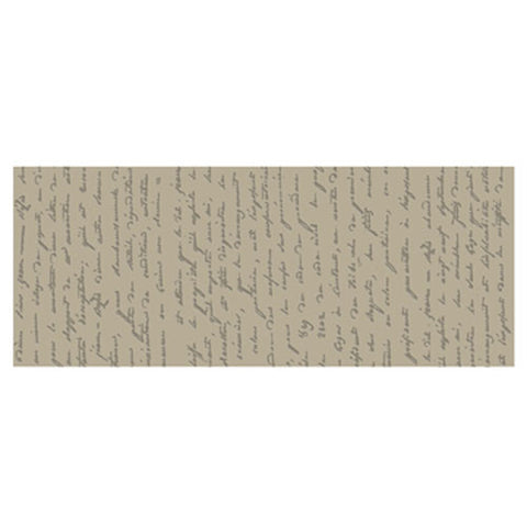 French Script Texture Plate