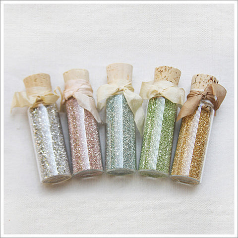 The finest quality Glass Glitter, made by old-world German artisans.