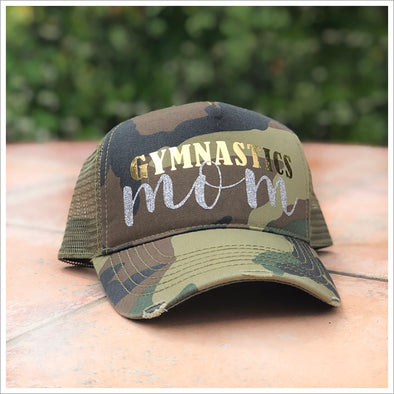 Gymnastics Mom Baseball Cap