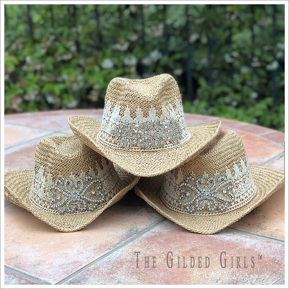 Embellished Cowgirl Hat