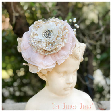 Ruffled Roses Headband Kit
