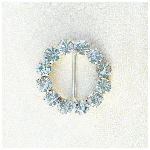Rhinestone Circle Slide