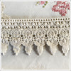 Crochet home decor or garment trim. Scalloped design. 3