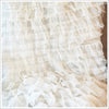 Ruffled Tulle Fabric