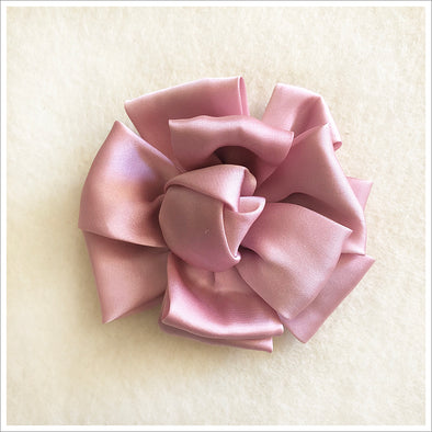 Knotted Satin Rose