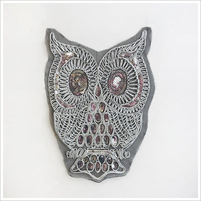 Owl Embroidered Applique