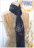 Sequin Ripple Scarf