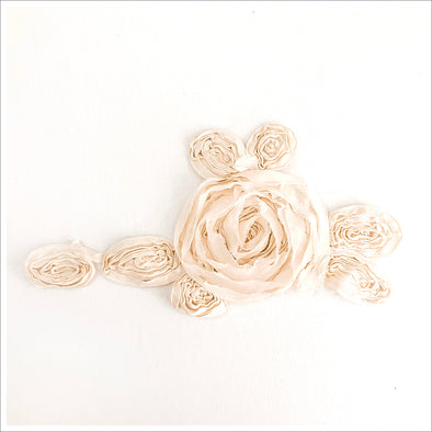 Spiral Rose Applique