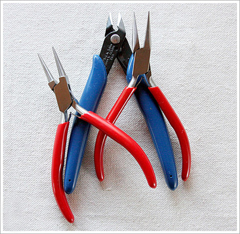 Set/3 Jewelry Pliers