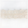 Wide Ecru Cotton Trim