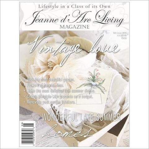Jeanne d'Arc Living Magazine August 2016