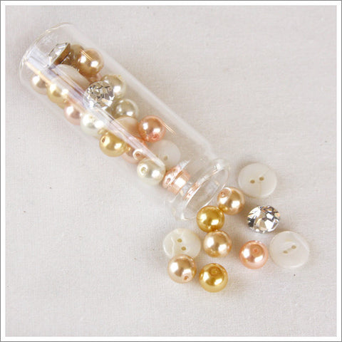 Pearls And Buttons Assortment