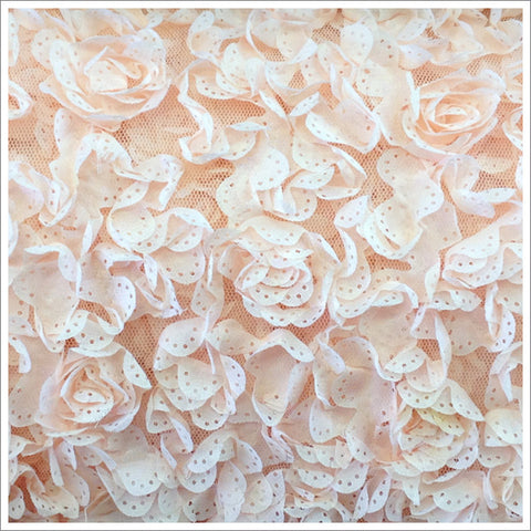 Pierced Roses Fabric