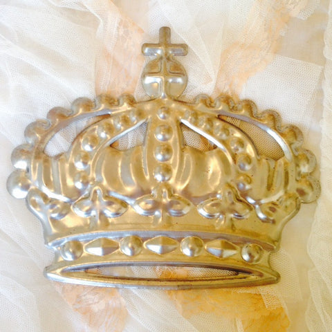 Stamped Metal Crown
