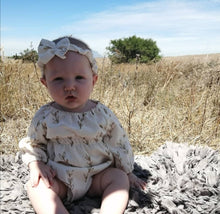 Load image into Gallery viewer, The Olive Romper With Matching Headband