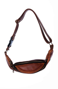 JOHNNY LEATHER MOON BAG
