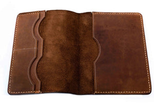 A5 GENUINE LEATHER NOTEBOOK COVER