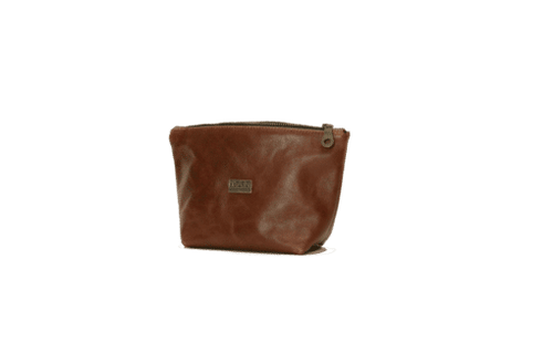 LOUISE LEATHER MAKEUP BAG