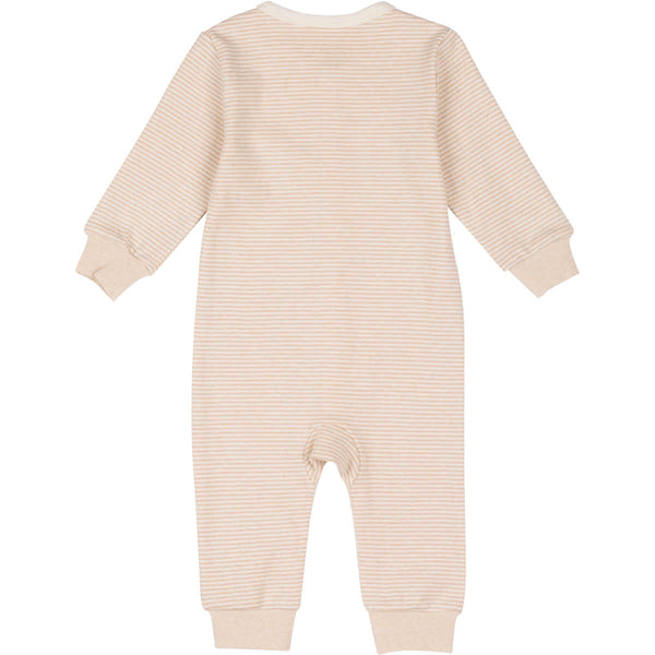 Organic Cotton Snap Front Coverall