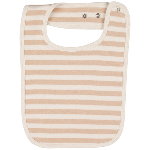 Organic Cotton Baby Bib Stripes