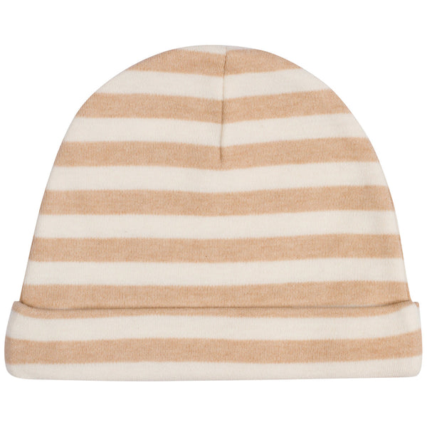 Organic Cotton Baby Hat Stripes