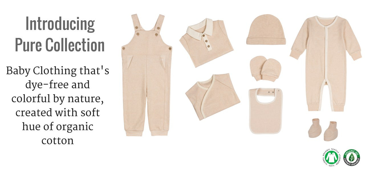 GOTS Certified Organic Cotton Baby Clothes | Niteo Collection