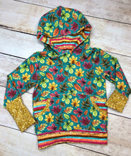 Load image into Gallery viewer, Fall Leaves 1-3 Year Grow with me Hoodie