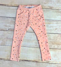 Load image into Gallery viewer, 2/3T Pink Stars Leggings