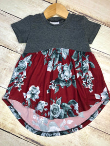 Boho Baby Doll Top size: 2T
