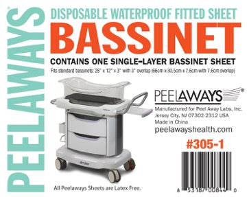 Peelaways®  Bassinet  5 layer